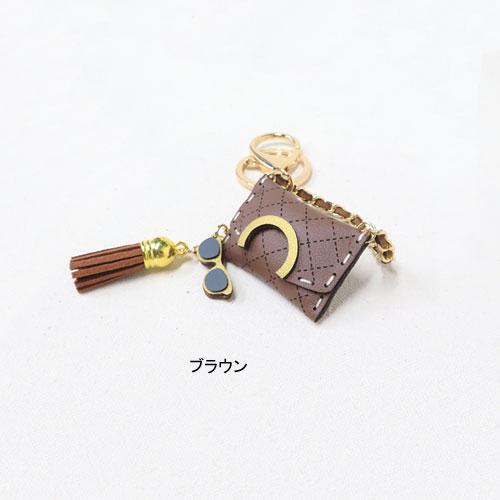 ミニチュアバッグキーリング・全4種【キャリーチャーム】