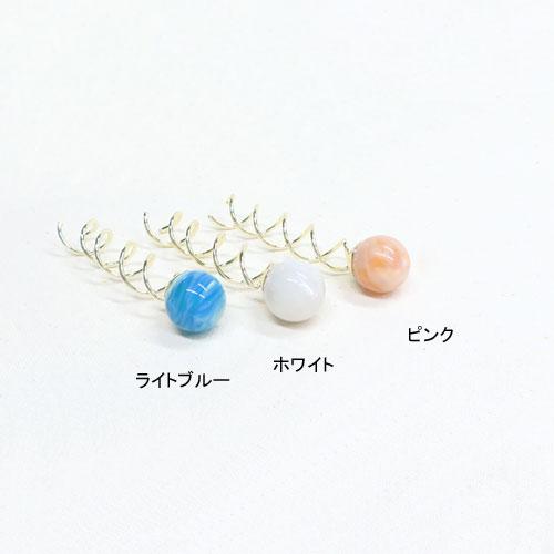 シニヨンスクリュー-パステルマーブル-【アレオリ】