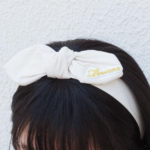 ★50%OFF★シャーベットカラーシリーズ-リボンカチューシャ-A【ルココネ】