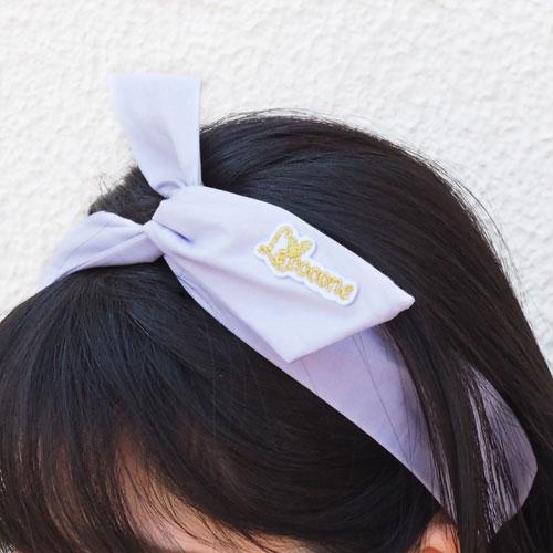 ★50%OFF★シャーベットカラーシリーズ-リボンワイヤーターバン-A【ルココネ】