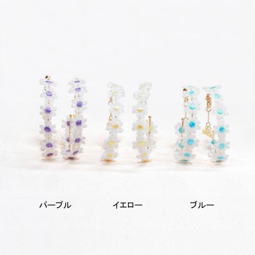 ★50%OFF★ガーリーサマーシリーズ-サークルフラワー-【ルココネ】