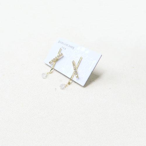 shinyピアス-キュービックドロップ-【ダーリンデイズ】