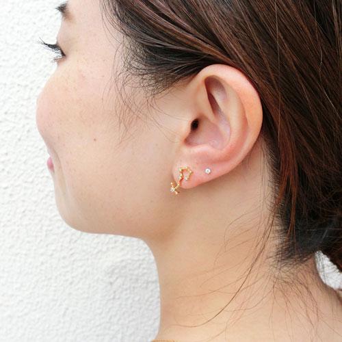 12星座ピアスシリーズ-Starry Pierce-【アレオリ】