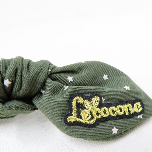チノ×星柄シリーズリボンゴムポニー-ヴィンテージスター-【ルココネ】