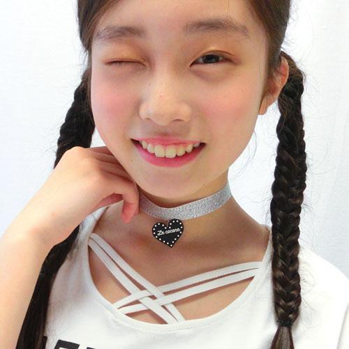 ★70%OFF★ロゴハート×ラメチョーカー【ルココネ】
