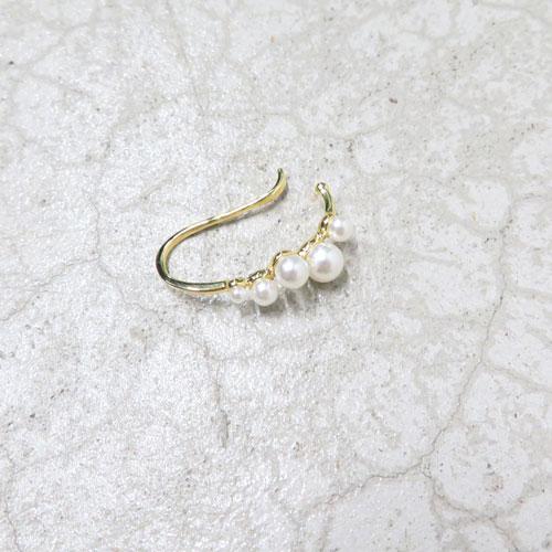 ear cuff -イヤカフ-ランダムパール【アレオリ】