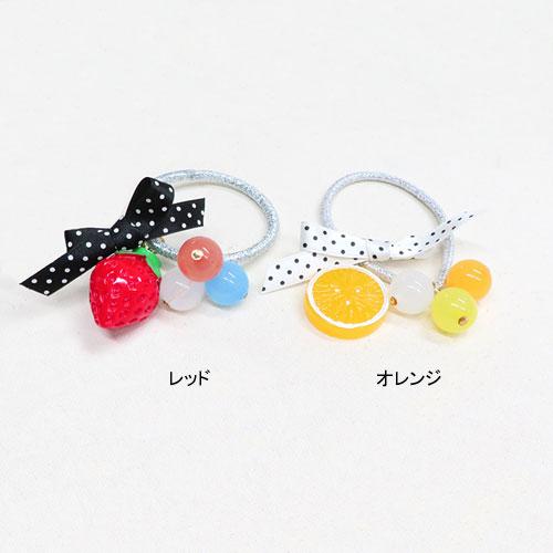 ドット×フルーツシリーズ-ゴムポニー-【ルココネ】