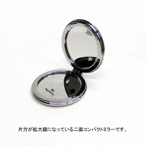 -Compact mirror-HIBIYA-KADAN×ラメ&ホログラム【アレオリ】