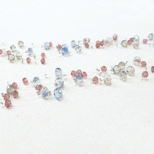 -Queen's ornament-シリーズボリュームロングネックレス-マルチカラー【ダーリンデイズ