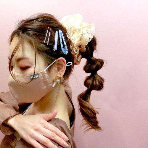 -マスクアレンジ-ヘアピンセット・SWEET【C】【アレオリ】