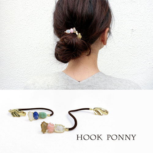 -Hook Ponny フックポニー-ナチュラルマルチカラー【アレオリ】