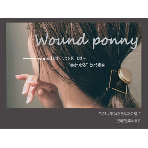-Wound ponnyワウンドポニー-サークルテクスチャー・B【ダーリンデイズ】