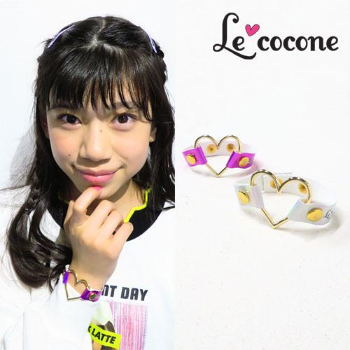 """★70%OFF★""""LE COCONE""""ロゴ×オーロラシリーズブレスレット【ルココネ】"""