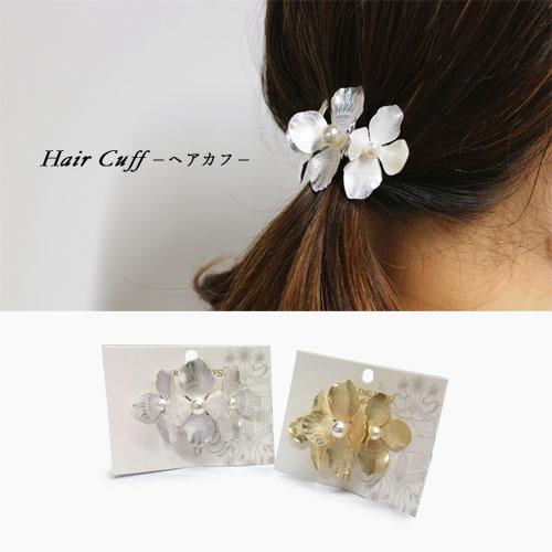 -Hair Cuff ヘアカフ-パールフラワー【ダーリンデイズ】