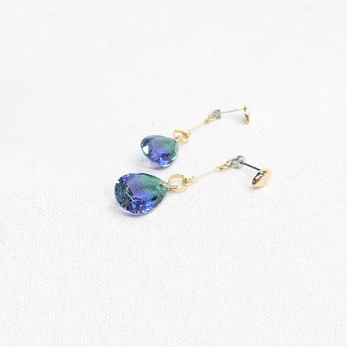 Jewel color-ジュエルカラー-フロントバックピアス・ラインドロップ【アレオリ】