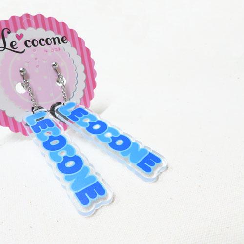 """★70%OFF★""""LE COCONE""""キャンディープレートシリーズイヤリング【ルココネ】"""