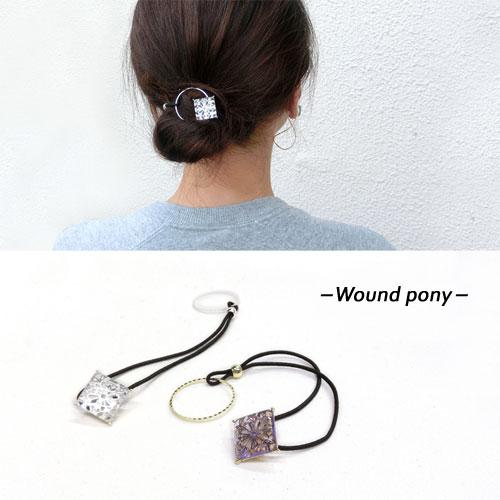 -Wound ponyワウンドポニー-レーススクエア【アレオリ】