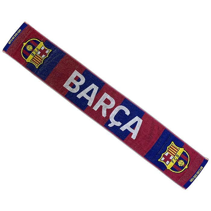 FCバルセロナ グッズ「FCバルセロナ タオルマフラー」(bcn34378)