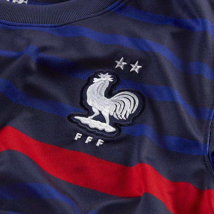フランス代表ジュニアユニフォーム「Nike/ナイキ フランス代表ジュニアユニフォーム 2020 ホーム」(cd1036-498)
