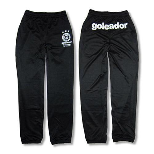 goleador(ゴレアドール) トレーニングジャケット & トレーニングパンツ(Black)