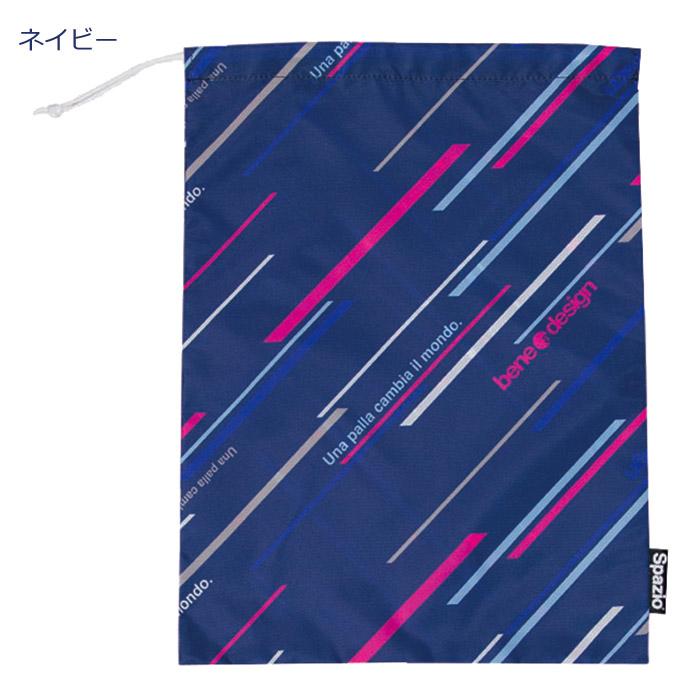 SPAZIO/スパッツィオ バッグ「DIAGONAL STRIPEシューズバッグ」(bg-0100)