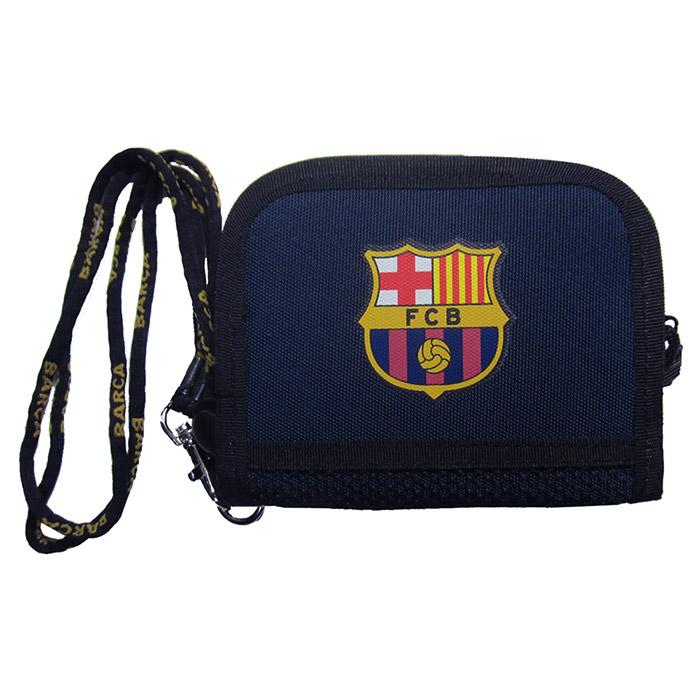 FCバルセロナ グッズ「FCバルセロナ ラウンドウォレット」(fcb-111)