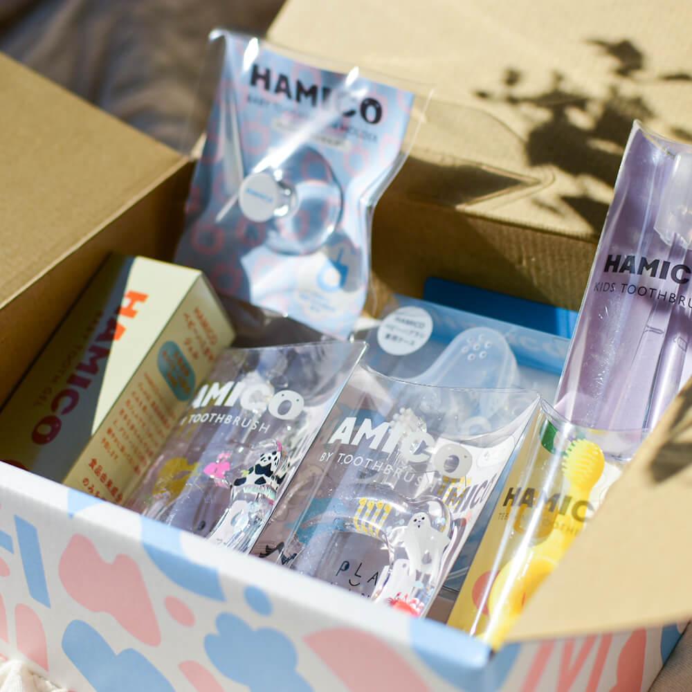 ママさんが毎日使える日用品ギフトセット-usefuleveryday-[amanoppo] 出産祝い ラッピング・メッセージカード付