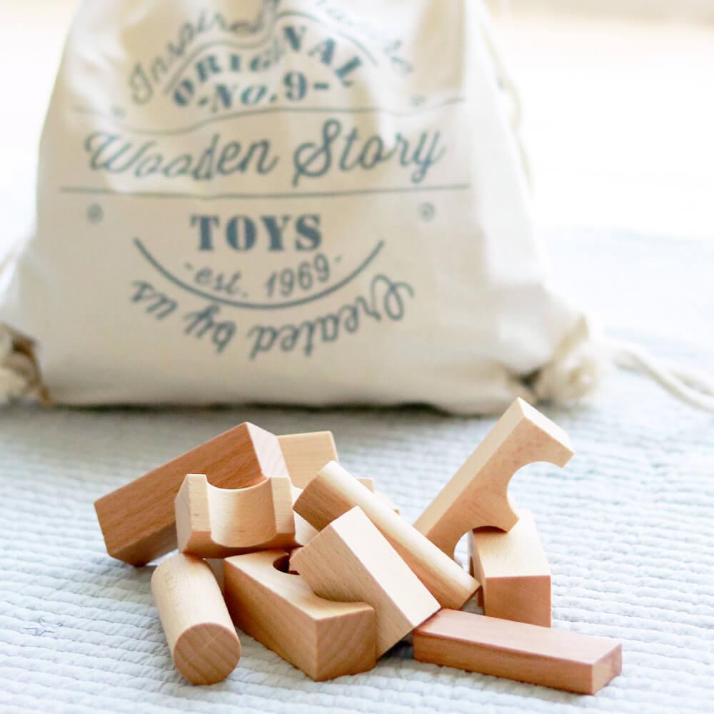 [WOODEN STORY]Wood Block in BAG