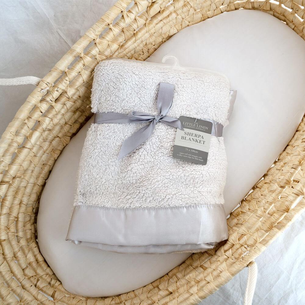 [The Little Linen Company]ブランケット