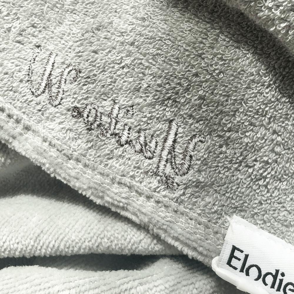 [Elodie Details]名入れ刺繍無料 | フード付きタオル