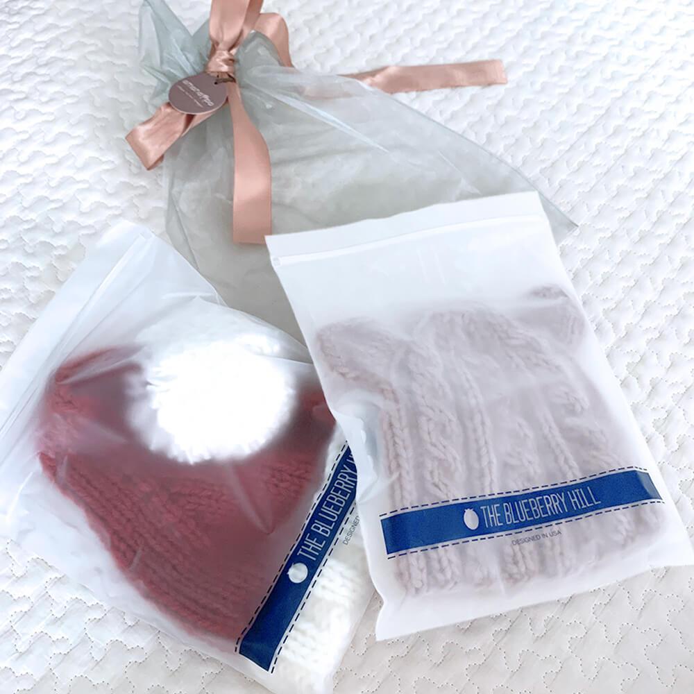 [THE BLUEBERRY HILL]サンタさんベビーキャップ
