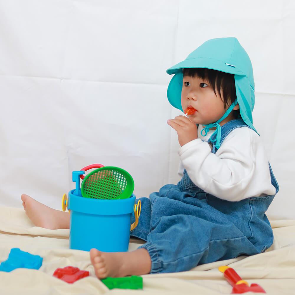 [i play]首元付きサンハット