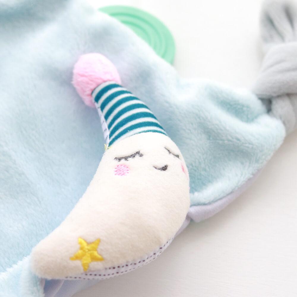 [taf toys]お月さまのミニタオル