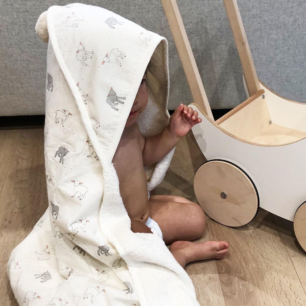[Pehr] フード付きタオル