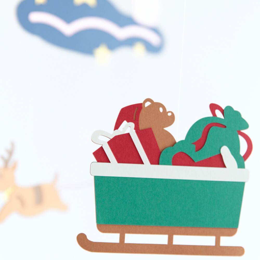 [Manu Mobiles]モビール(クリスマス)