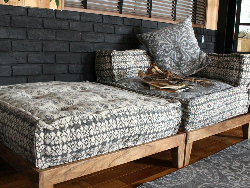 block multi sofa corner GEO gray(アデペシュ)