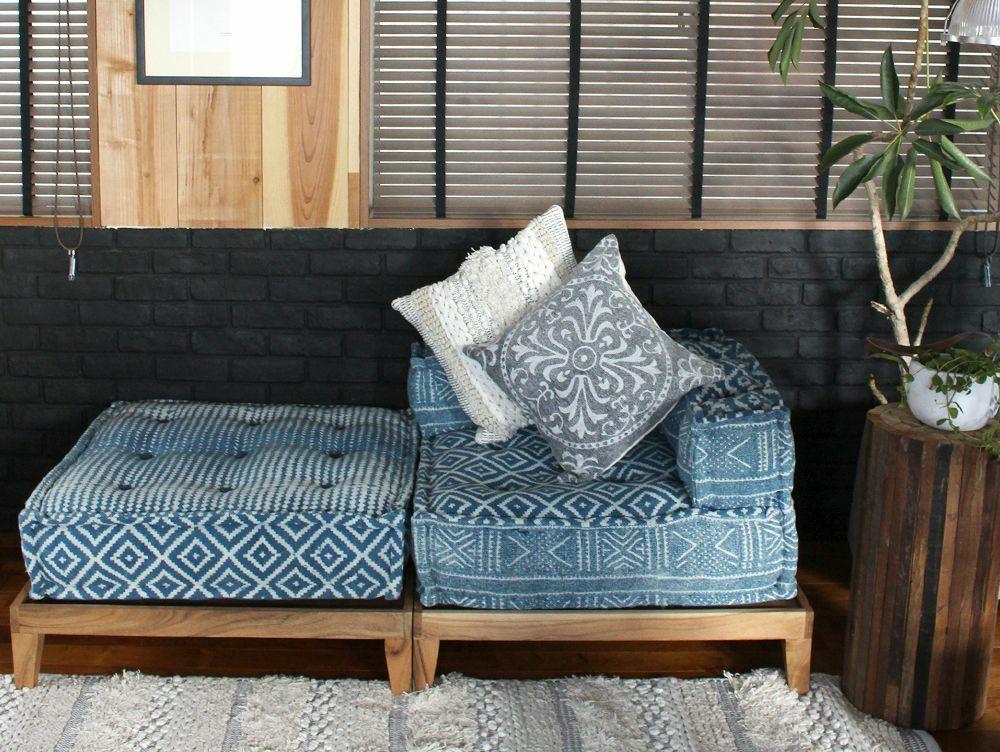 block multi sofa corner NOS blue(アデペシュ)