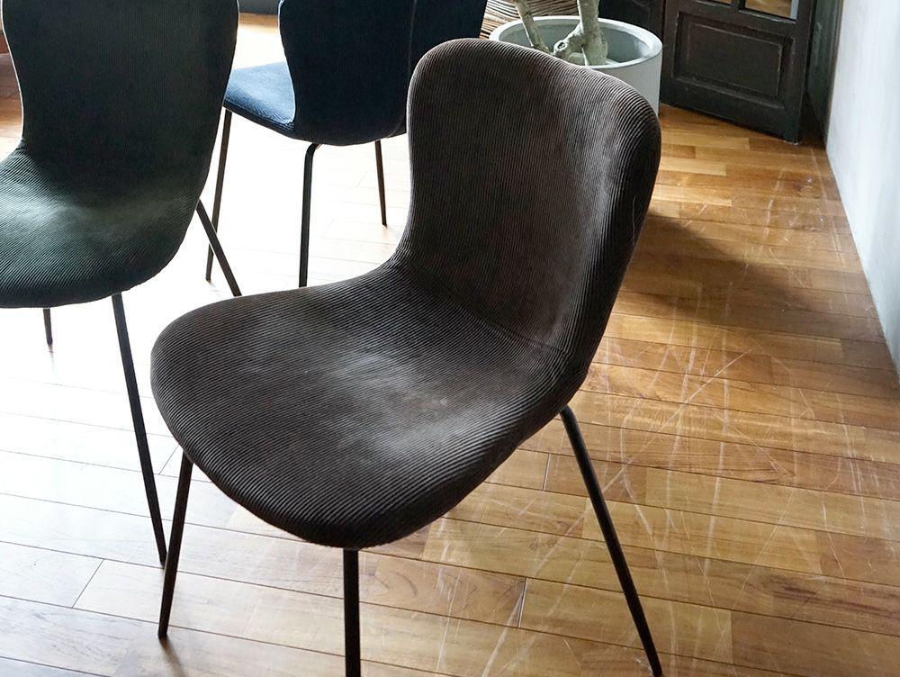 zip design chair corduroy(アデペシュ)