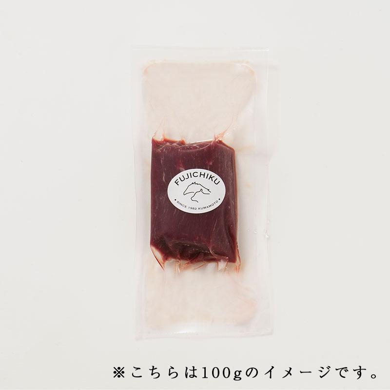 【送料無料】ふじ馬刺し上赤身 500g タレ・生姜付