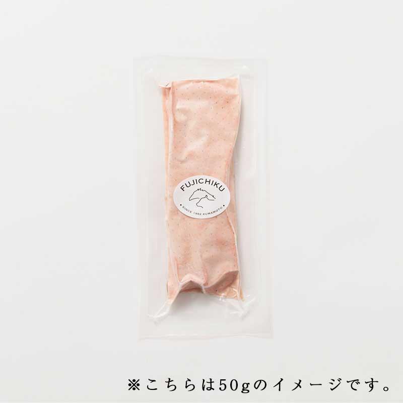 ふじ馬刺しスライスパック 50g(1P) タレ・生姜付