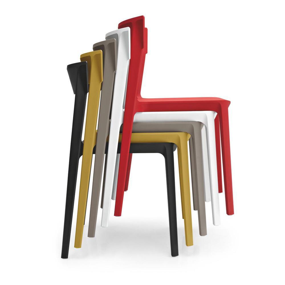 ダイニングチェア Chair SKIN CS/1391:P94 ホワイト
