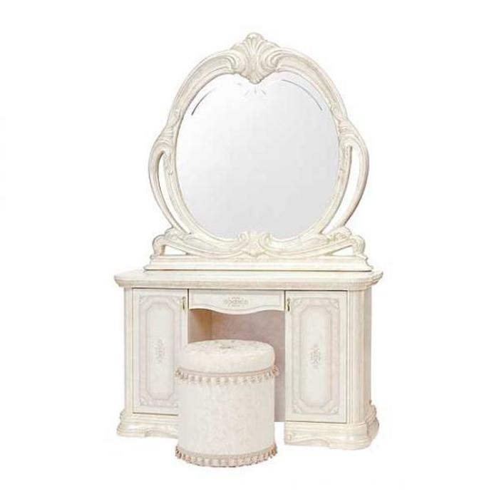 Saltarelli サルタレッリ Amalfi アマルフィ  Vanity(Ivory)&Mirror ALBA�(Ivory)