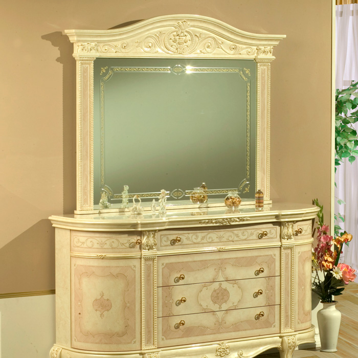 Saltarelli サルタレッリ Versailles  ヴェルサイユ Mirror(Ivory)