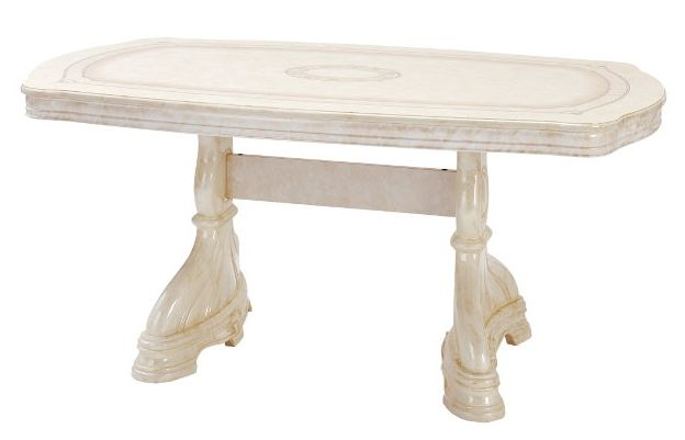 Saltarelli サルタレッリ Amalfi アマルフィ Extensible Table(Ivory)