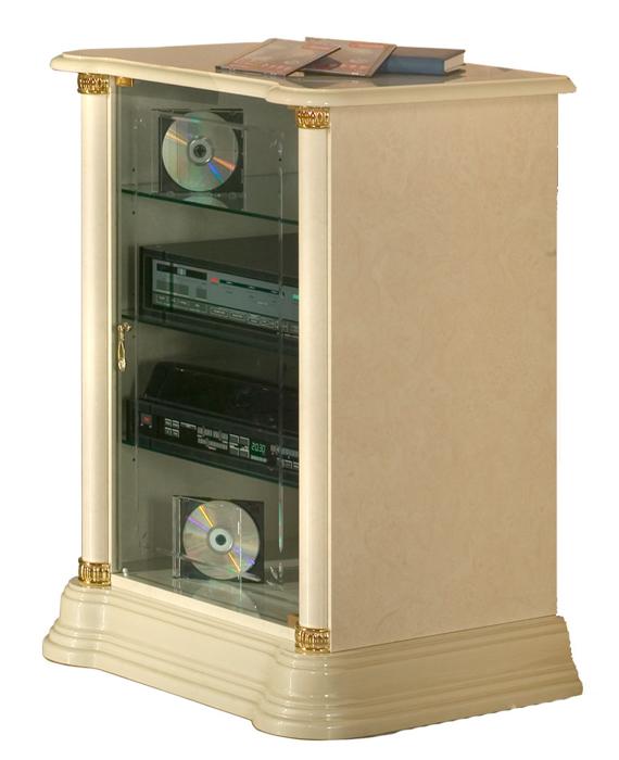 Saltarelli サルタレッリ Florence フローレンス Stereo Cabinet(Ivory)