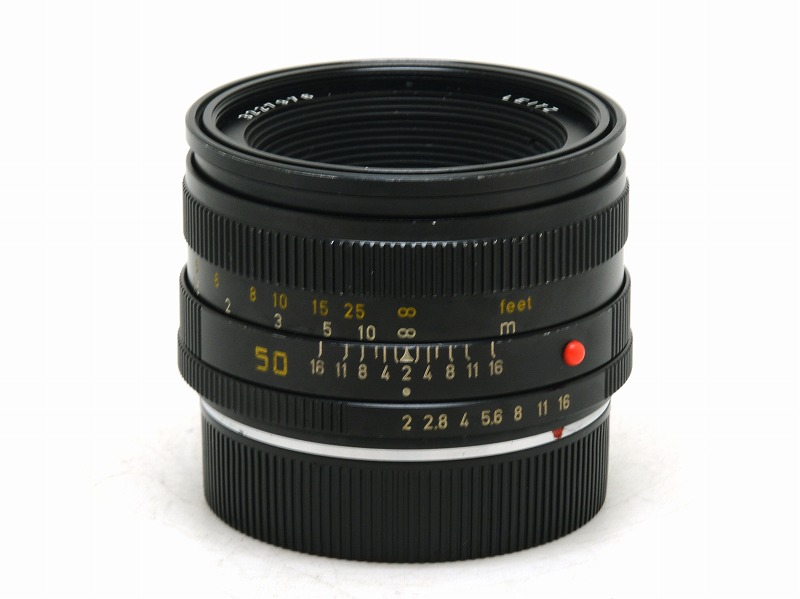 Leica(ライカ) SUMMICRON-R 50mm F2 (R-CAM) 322万台 (NL-3748)