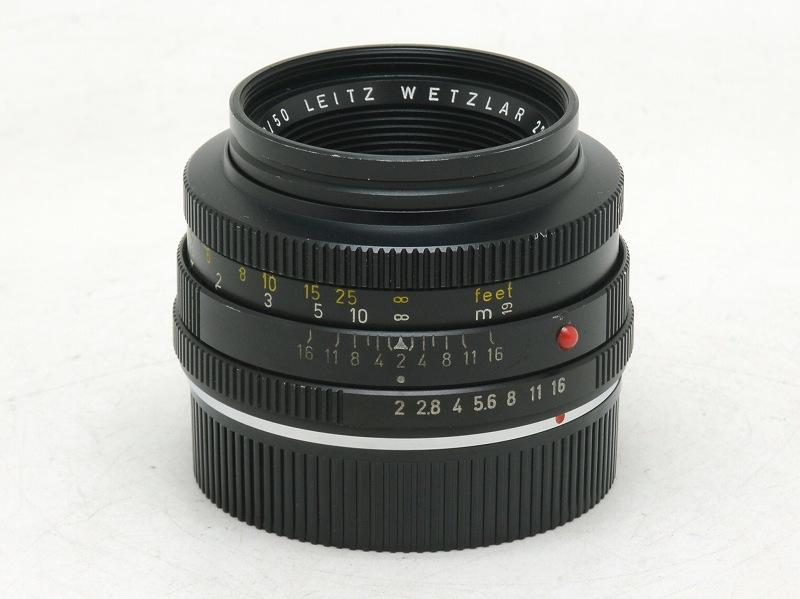 Leica(ライカ) SUMMICRON-R 50mm F2 (3-CAM) 275万台 (NW-2761)