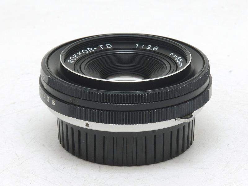 【委託】MINOLTA(ミノルタ) ROKKOR-TD 45mm F2.8 (NI-3330)