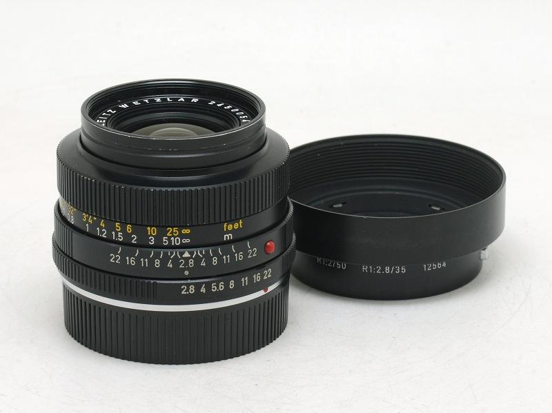 Leica(ライカ) ELMARIT-R 35mm F2.8 (2-CAM) 245万台 (NW-2763)