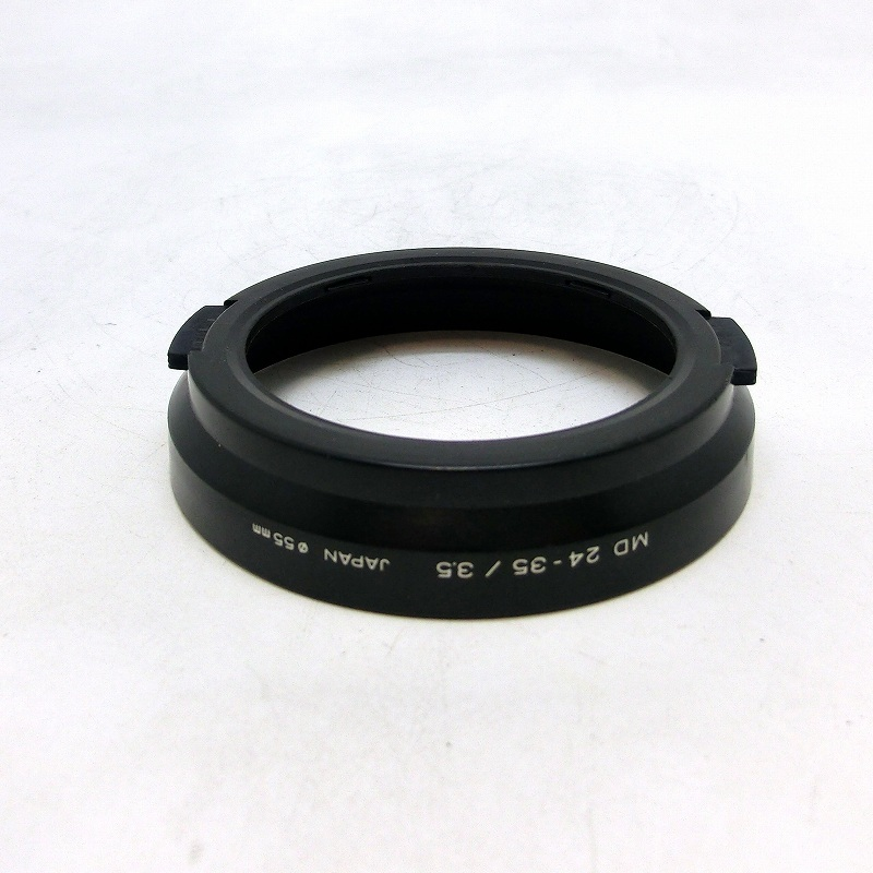 MINOLTA(ミノルタ) New MD 24-35/3.5用スナップ式レンズフード (0NAC-1859)